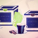 お茶とコーヒーに置き換えるダイエットサポートドリンク「KA・RO・YA・KA」発売