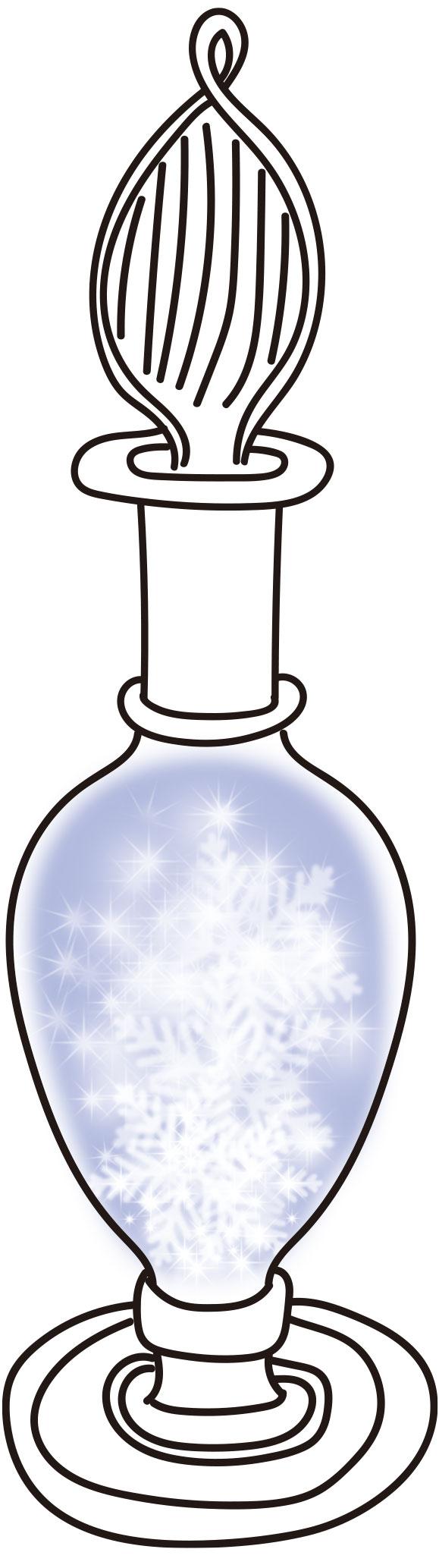 ストームグラス_雪や霜
